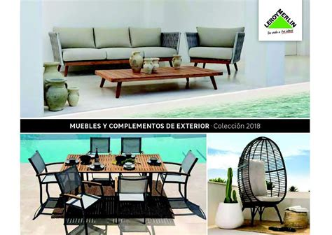 leroy merlin muebles de jardin muebles para terraza y jard 237 n de leroy merlin 2019