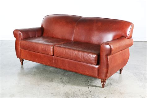maroon leather couch vintage burgundy leather sofa vintage supply store