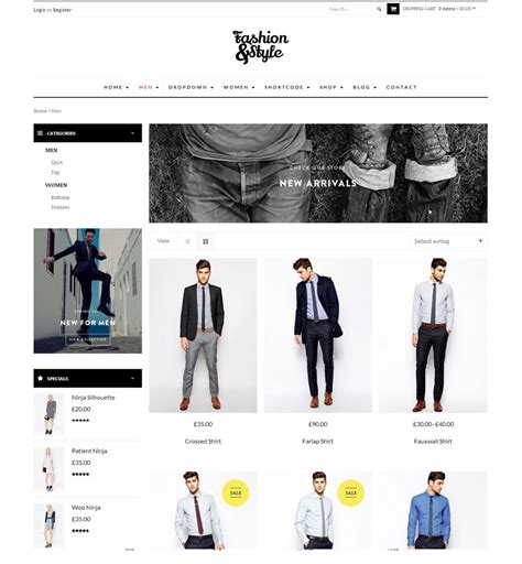 fashion template wordpress 28 images fashion wordpress