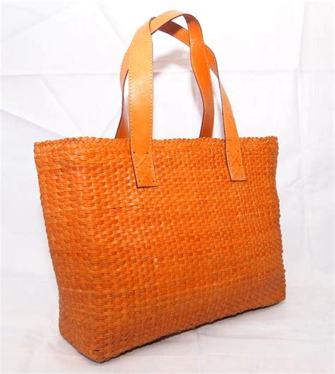 Bag Anyaman bottega tas wanita kulit asli anyaman tote koesoema bags