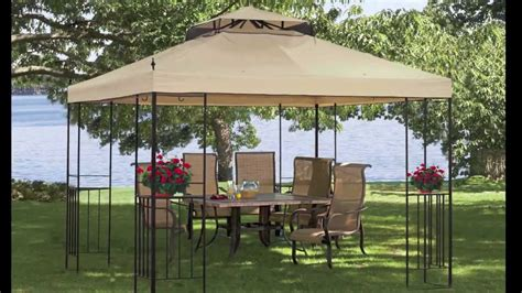 Patio Gazebo Walmart Gazebo Canopy At Walmart Outdoor Furniture Design And Ideas