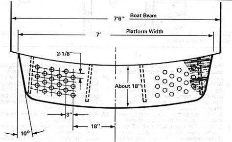 boat swim platform plans 7724 build a swim platform boat boat building boat