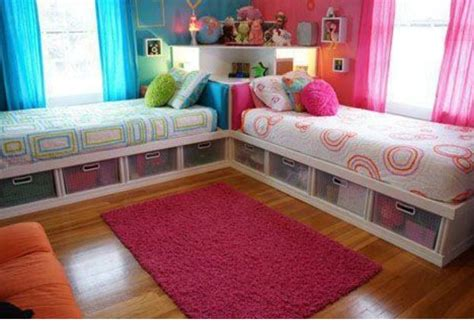 twin girl beds twin girls bedroom future pinterest girls bedroom