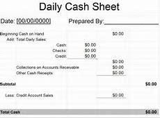 Daily Cash Sheet Template | Daily Cash Sheet » Template Haven Excel Tutorials For Intermediate Pdf