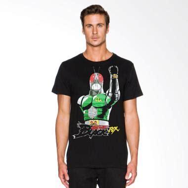 Tshirt Kamen Rider Black Rx jual fantasia kamen rider black rx t shirt pria hitam