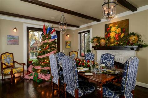 decorating your yellow den for christmas nautical theme decor sets the stage for a quot merry time quot kerrie hgtv