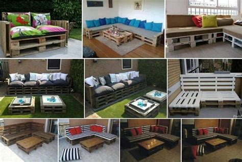 Furniture Out Of Pallets by Outside Furniture Made Out Of Pallets Wood Pallet Ideas