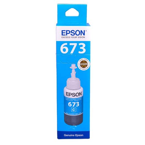 Epson Cyan Ink Cartridge T6732 epson t6732 cyan original dye ink refill replaces ct24224010