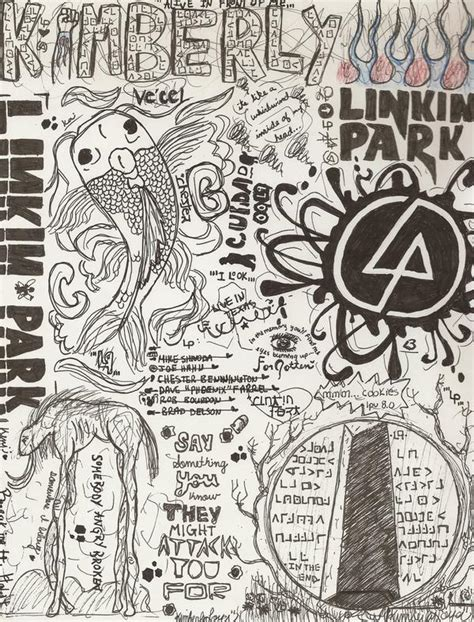 doodle draw linkin park doodle drawing by kimster811 on deviantart