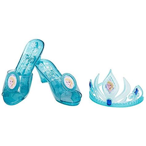 Set Gamis Frozen Elsa No 9 9 10thn disney frozen elsa tiara and shoe set apparel accessories