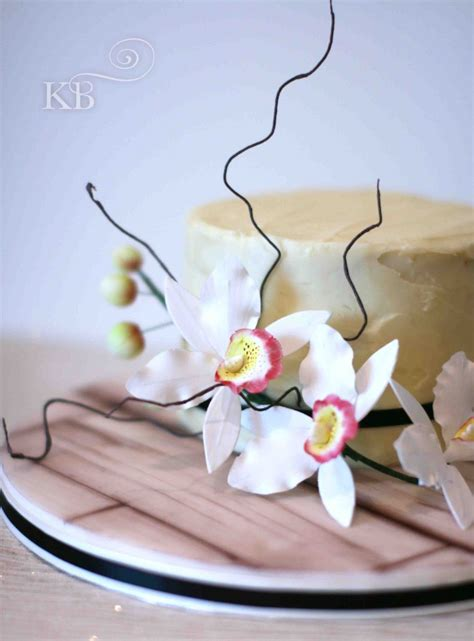 Cake Decorating Enfield by Birthday Cake Sugar Flower Orchids Enfield