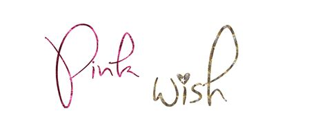 Wishlist Giveaway - pink wish pink wish