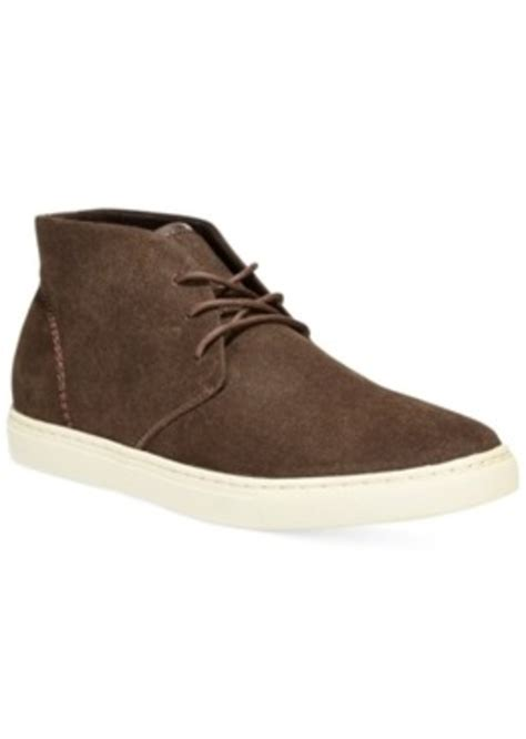 macys mens athletic shoes alfani chad canvas chukka boot only at macy s s shoes