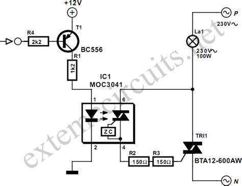 triac diagram dc for triacs eeweb community