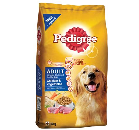 pedigree food pedigree food chicken vegetables 15 kg dogspot pet supply store