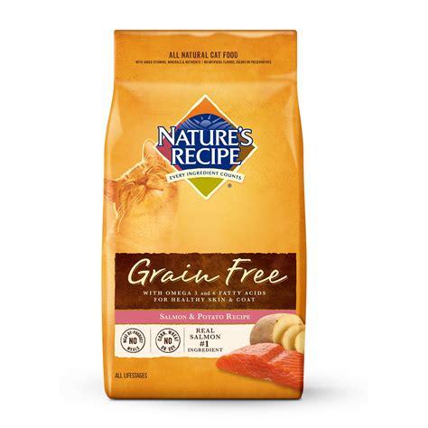 grain free food recipes natures recipe cat food food