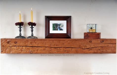 rustic wood mantel shelves 19 rustic wall shelves living room designs designtrends