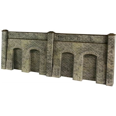 Retaining Wall Kit Metcalfe Po320 Oo Ho Mainline Station Booking