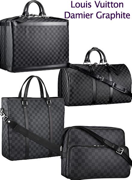 Louis Vuitton Damier Berkeley Available Now On Eluxurycom by Louis Vuitton Damier Graphite Collection Now Available