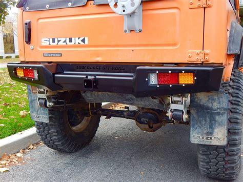 Suzuki Rear Bumper Suzuki Samurai Defiant Armor Rear Bumper By Low Range