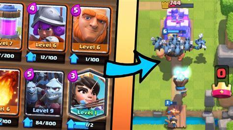 best princess deck clash royale and princess best deck