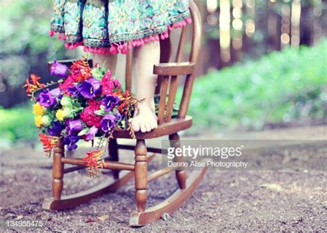 girls standing  rocking chair high res stock photo getty images