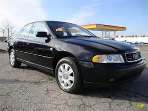brilliant black 2000 audi a4 1 8t quattro sedan exterior