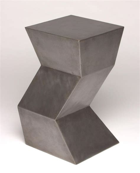 zig zag side table crafted zig zag side table by eric david laxman