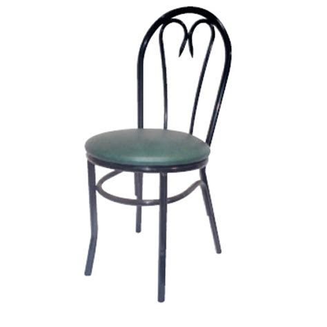 Black Metal Bistro Chairs Aaa Furniture 66d Glossy Black Metal Finish Restaurant Chair Best Price Guarantee Prima