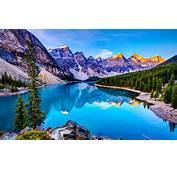 Moraine Lake  Hd Desktop Wallpaper