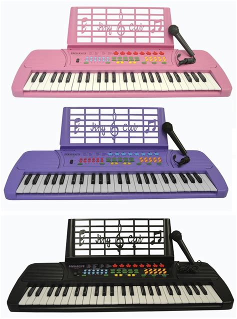 Bedroom Songs 49 key kids toy electric piano keyboard with microphone
