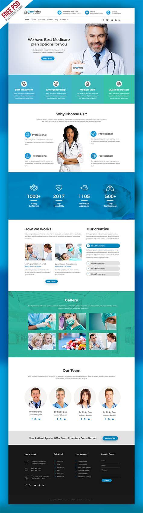 templates for medical website free download medical hospital website psd template psdfreebies com