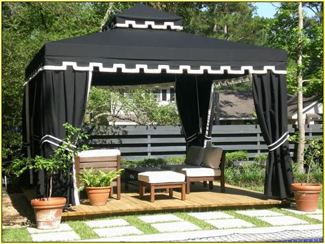 black gazebo color black gazebo curtains amazing gazebo for small