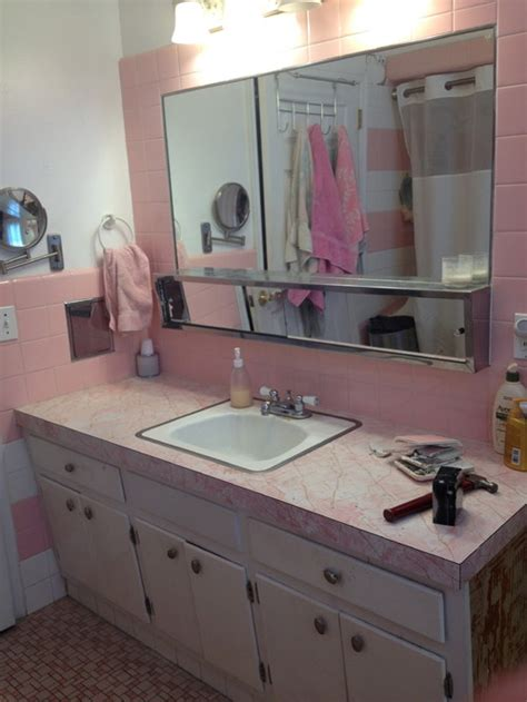 1960s bathroom remodel not pretty in pink my 1960 s bathroom