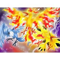 Legendary Birds Pokemon Wallpaper 6924218 Fanpop