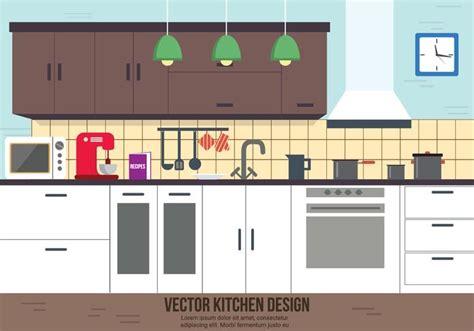 free download kitchen design free kitchen vector design download free vector art