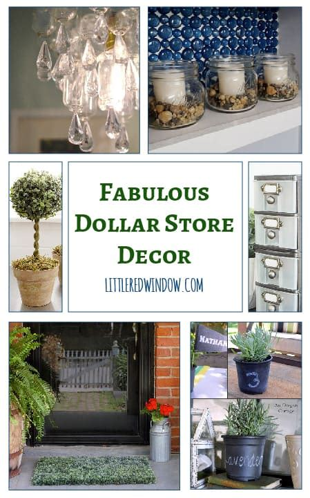 the little store of home decor fabulous dollar store decor crafts little red window