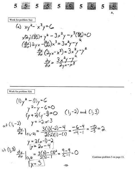 calculus ab section 2 part a answers calculus ab exam 2 section ii part a