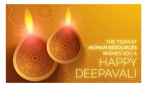 happy deepavali   human resources team human resources