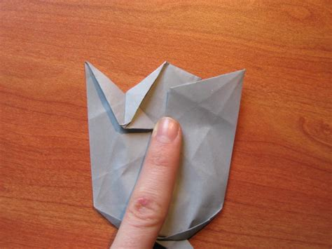 How To Make A Rhino Out Of Paper - easy origami rhino comot