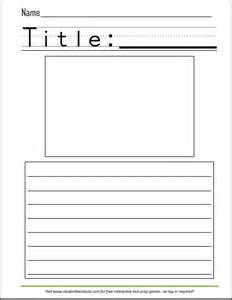 Printable writing worksheet with picture box for kids scroll down to