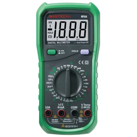 Multimeter Digital Mastech mastech my64 digital multimeter 43 95