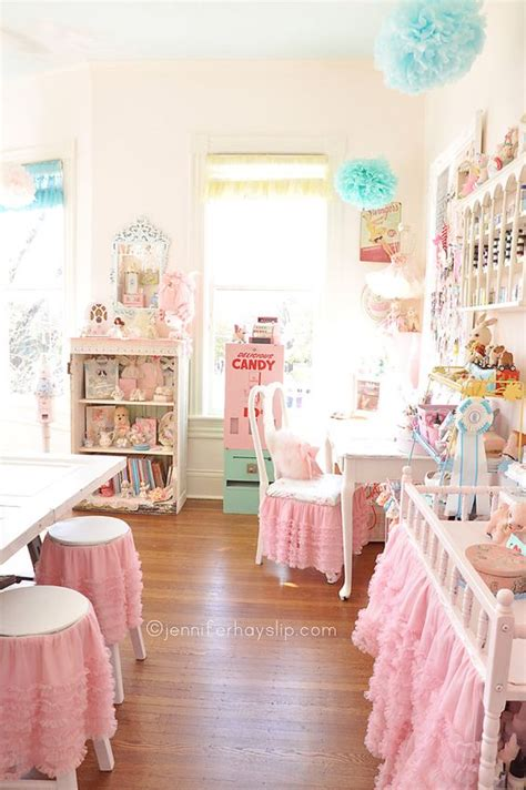 pink craft room crafts shabby chic and inspiration on