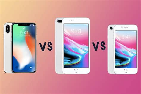 apple iphone x vs iphone 8 plus vs iphone 8 what s the difference gearopen