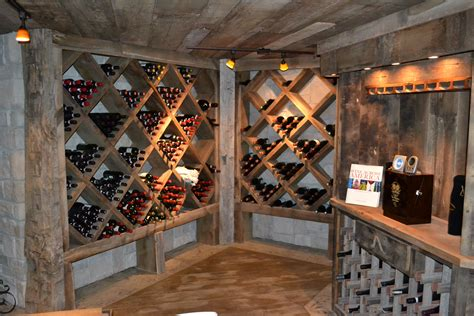 Salvaged Kitchen Cabinets by Custom Reclaimed Wine Cellar Cabinets Rustic Furniture