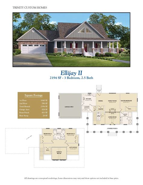 trinity custom homes floor plans ellijay ii welcome to trinity custom homes