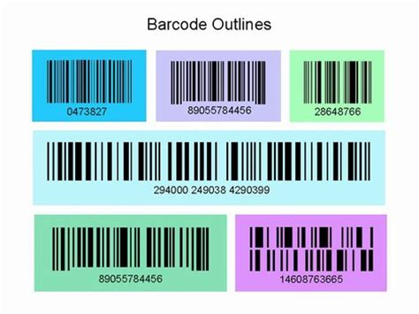 barcode template