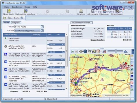 Motorrad Tourenplaner Download Freeware by Map Guide Base 1 5 Download Windows Deutsch Bei Soft