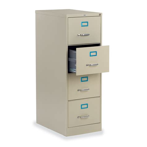 Four Drawer File Cabinet Virco Four Drawer Vertical File Cabinet 53vf184d