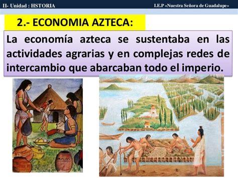 imagenes economia azteca los aztecas